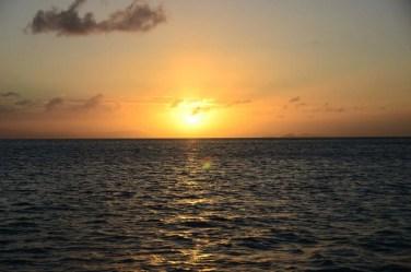 Sunset sur la mer