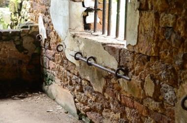Poteaux d'attache des condamnés