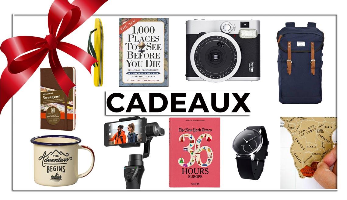 15 meilleures idees cadeaux pour un voyageur