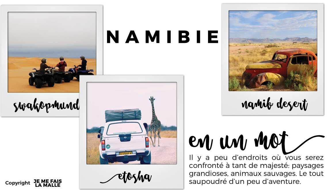 Mon voyage en Namibie