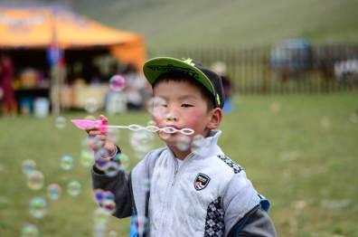 Des bulles et de la lutte mongole
