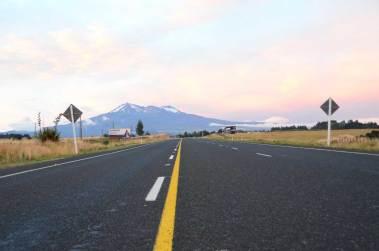 Sur la route de Tongariro