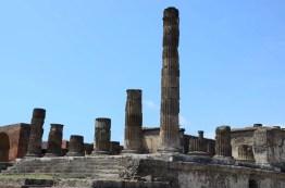 Temple de Pompei, Italie