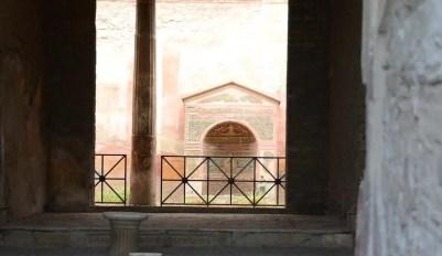 Jardin d'une villa de Pompei, Italie