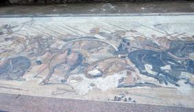 Mosaique d'Alexandre le Grand, Pompei