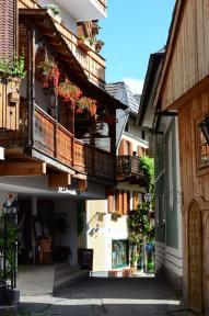 Ruelles de Hallstatt, Autriche