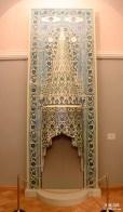 Cheminée décorative arabe