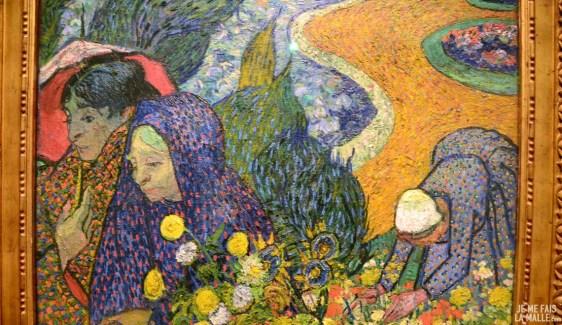Van Gogh Les femmes d'Arles