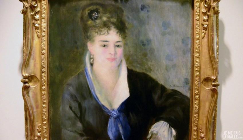 Renoir Femme en noir