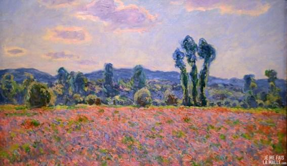Monet Champ de pavot