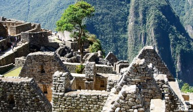 Toits du Machu Picchu, Pérou