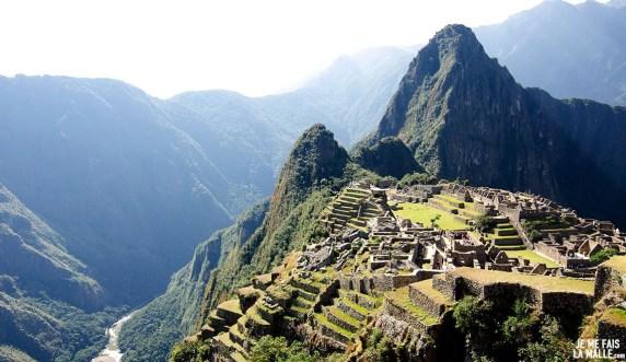 Cultures en terrasse, Machu Picchu