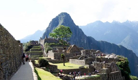 Terrasse du Machu Picchu
