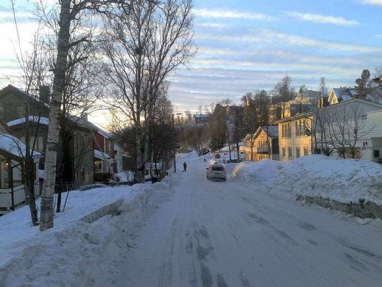Carnet voyage Norvège : Les rues de Tromso