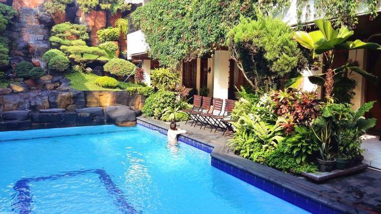 piscine guest house duta yogyakarta