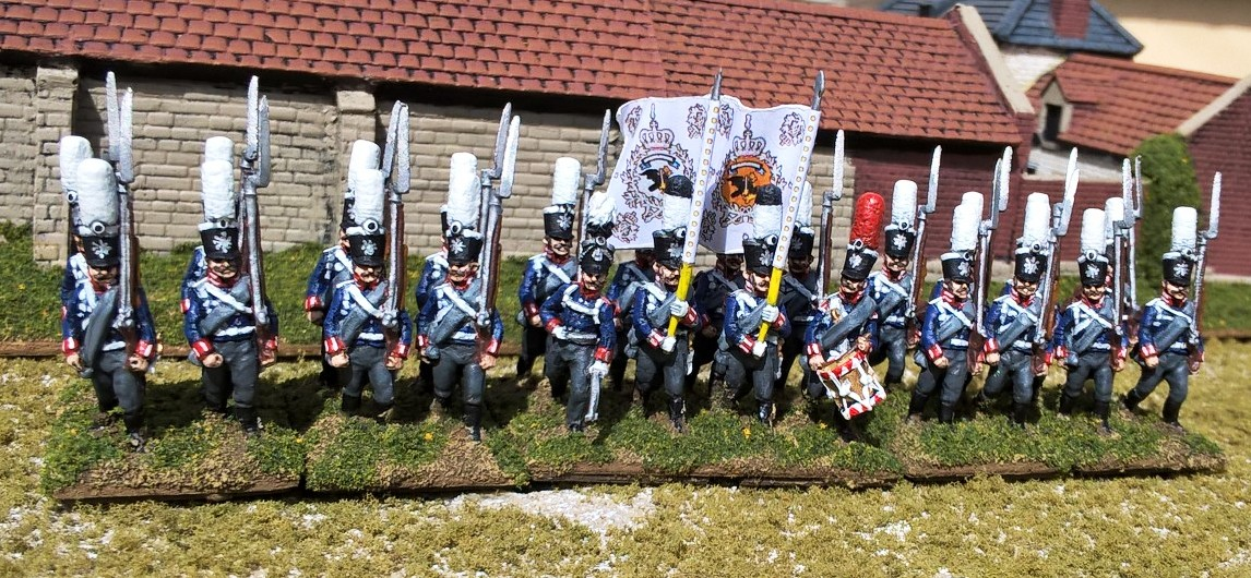 Happiness is a Large Busch: Prussian Foot Guard Regiments in 1813