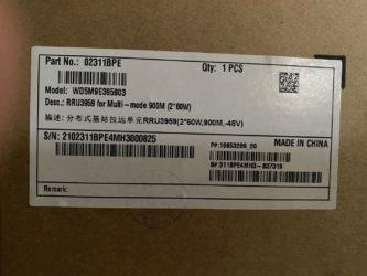 Huawei RRU3959 02311BPE NEW