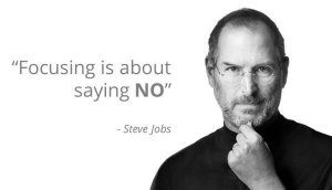 Focusing About Saying No