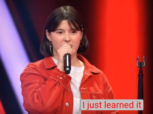 Evelyn - BTS The Voice Kids Germany 2