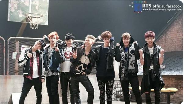BTS-debut