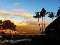 Sunrise our first Maui morning