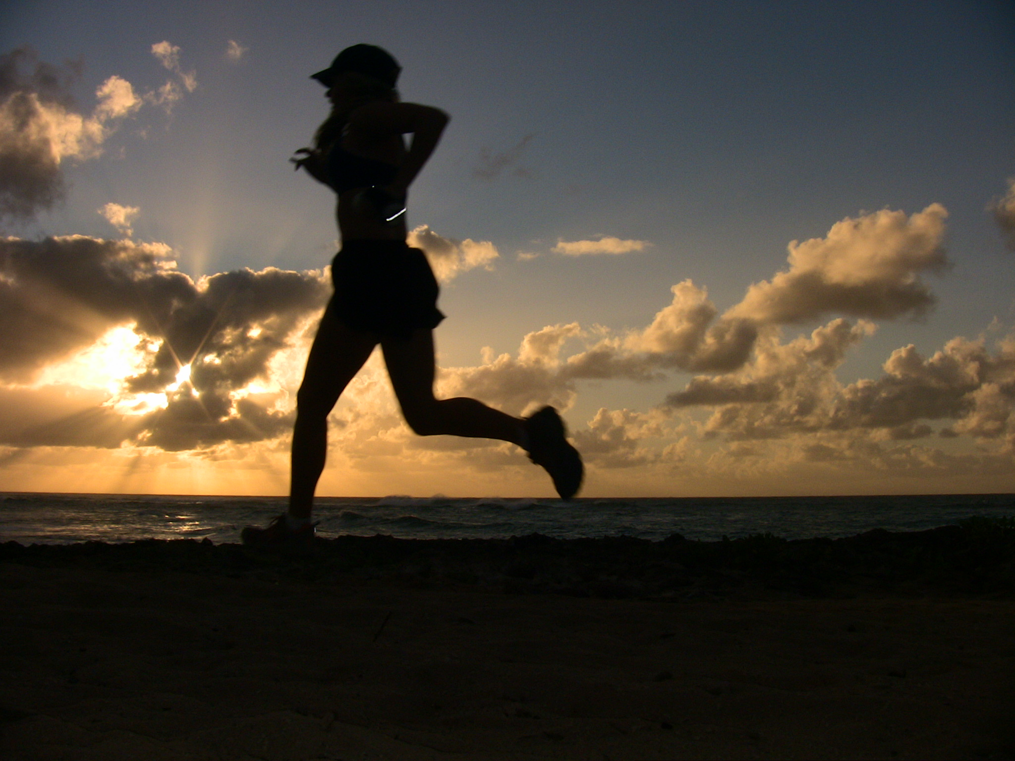 Image result for teenage girl running back view