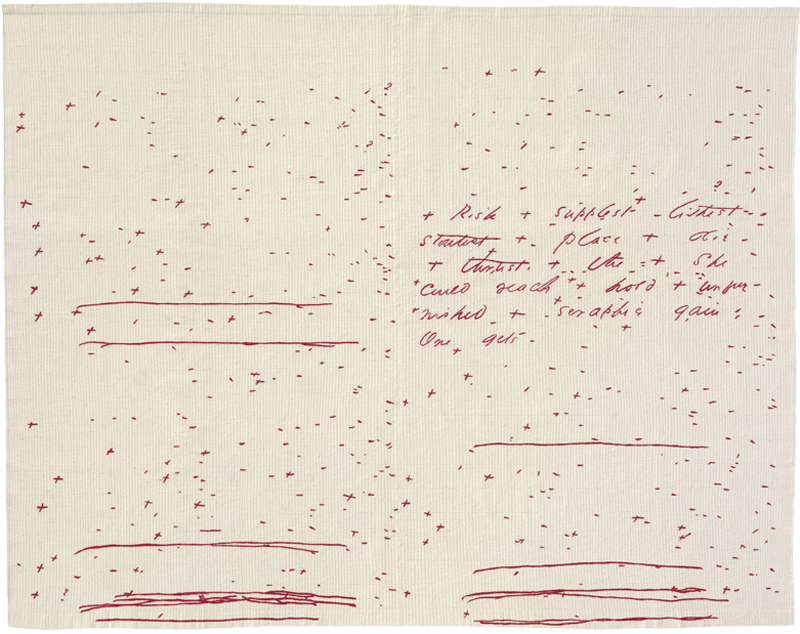 Jen Bervin, The Composite Marks of Emily Dickinson's Fascicle 28
