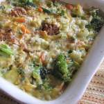 Cheesy Vegetable Rice Medley