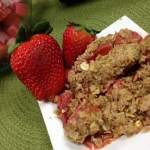 Six Ways With Oatmeal – Strawberry Rhubarb Dessert