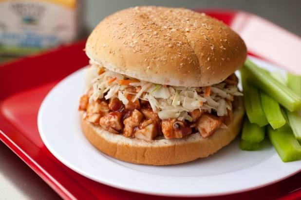 Cranberry BBQ Chicken Sandwiches