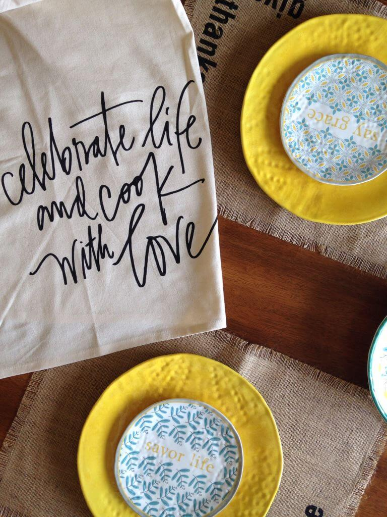 Mary & Martha tablescape com