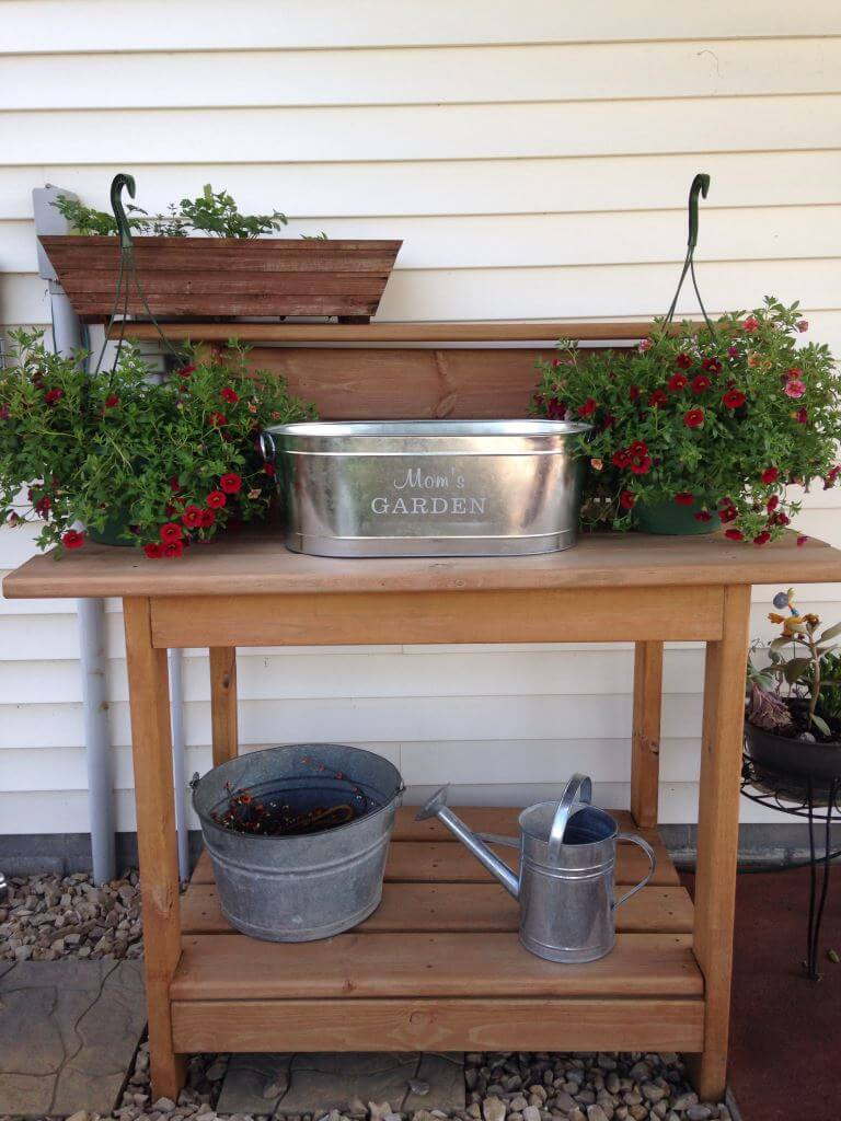 Galvanized Gardening Tub from Personal Creations
