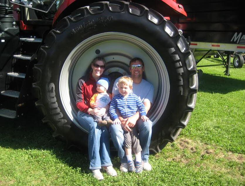 Kristie family photo