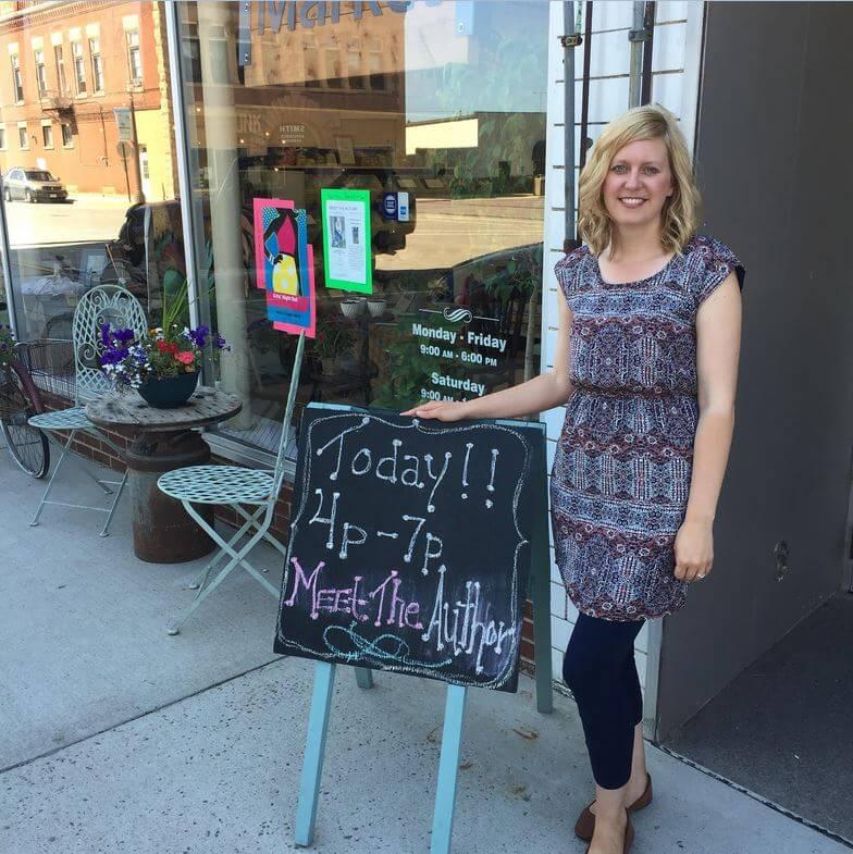 Jen Haugen Book Signing Plum Creek Market
