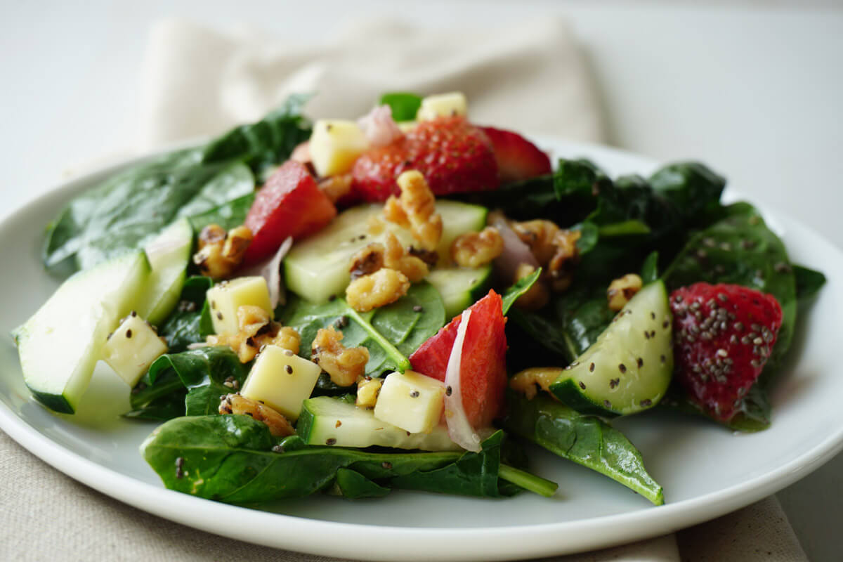 Strawberry Spinach Salad 2