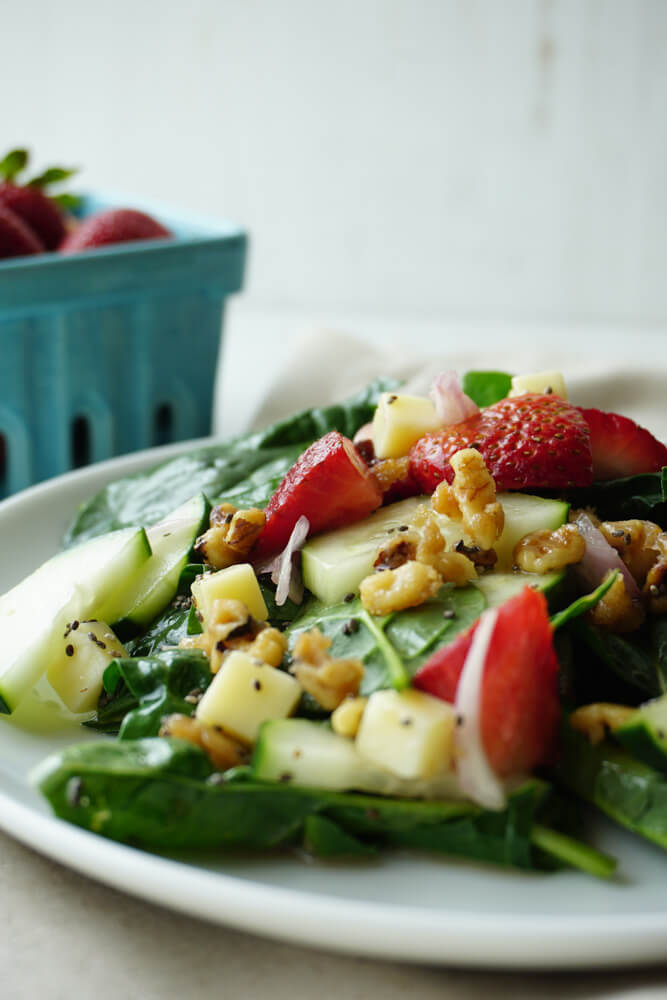 Strawberry Spinach Salad 3