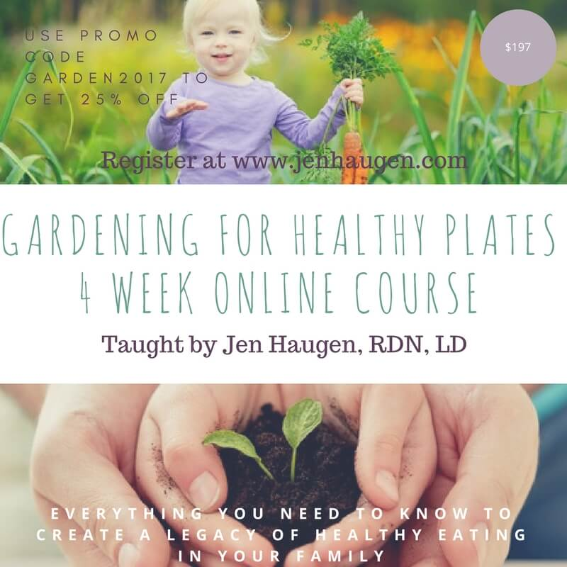 Dietitian Gardening