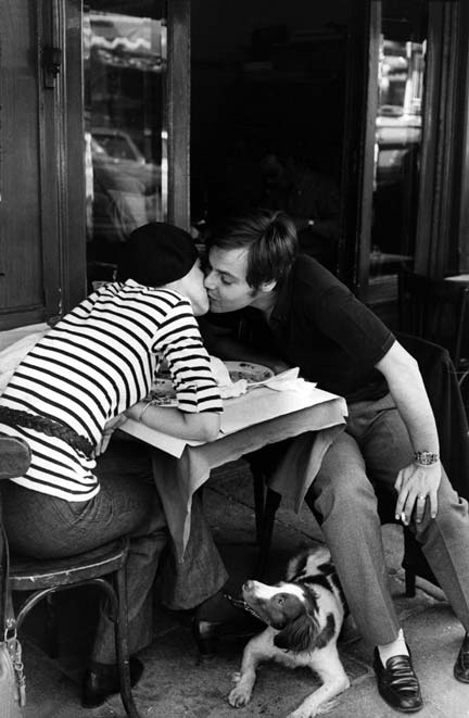 cartier bresson - france. paris 1968. doulevard duderot.