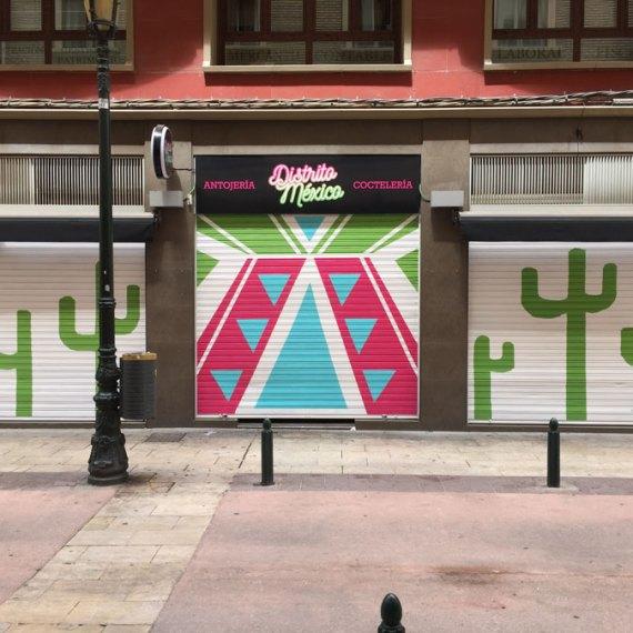 Distrito Mexico - Illustration - Zaragoza