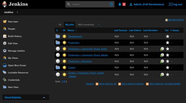 Dark Theme - Main page