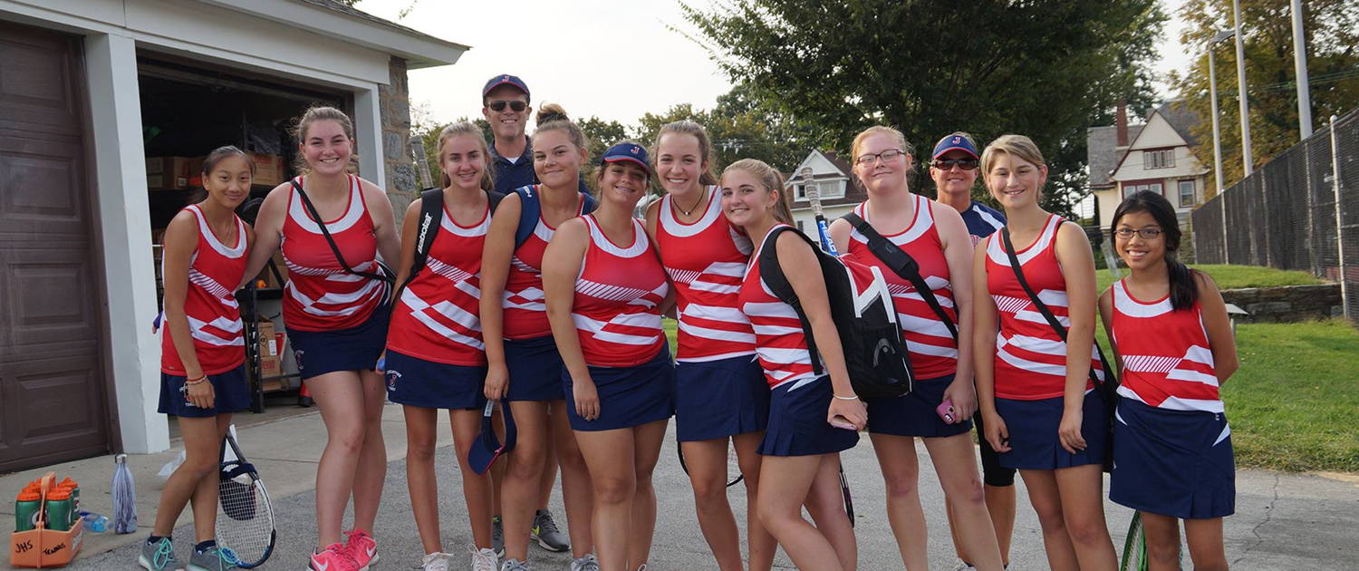"Girls"" Tennis Team"