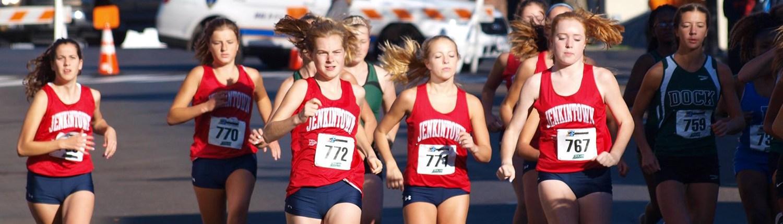 Girls' XC Runners