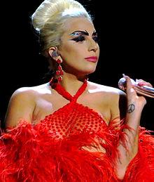 Lady Gaga @ Creative Commons. https://en.wikipedia.org/wiki/Lady_Gaga#/media/File:Tony_Bennett_%26_Lady_GaGa,_Cheek_to_Cheek_Tour_06_edited.jpg