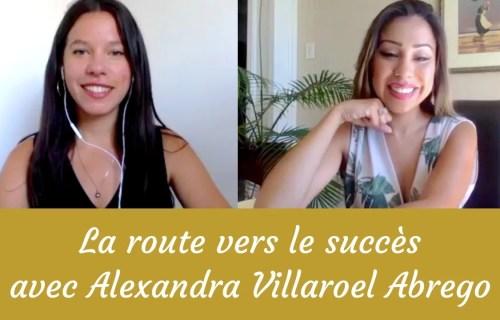 interview Alexandra Villaroel Abrego jenna blossoms
