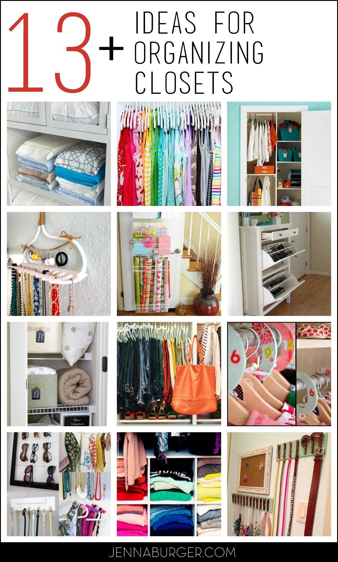 13 Closet Organizing Ideas Combat The Closet Clutter