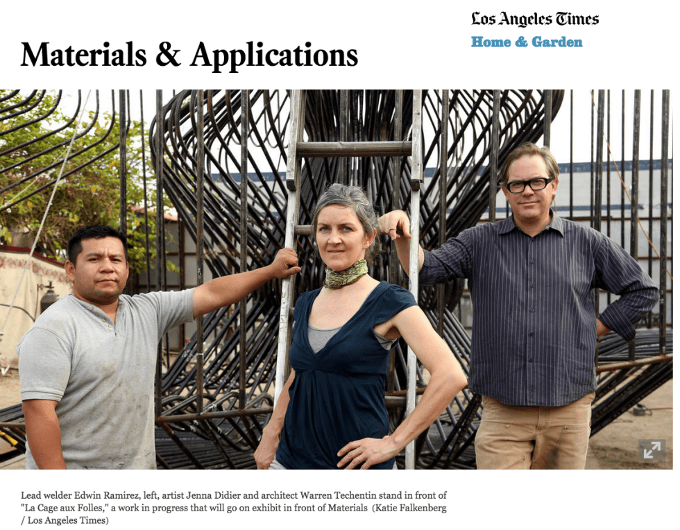 Materials   Applications   LA Times01