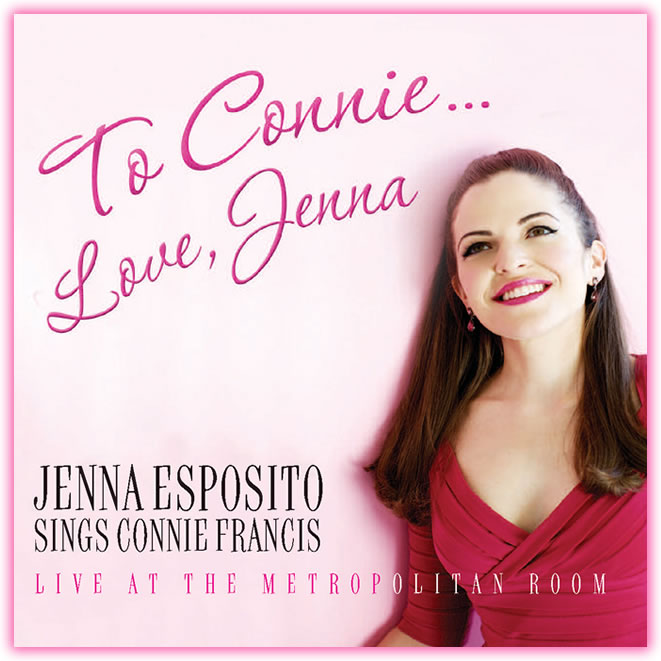 To Connie, Love Jenna