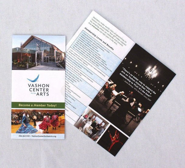 VCA membership brochure