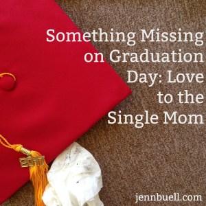 something missing graduation