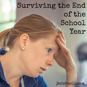 surviving end school year